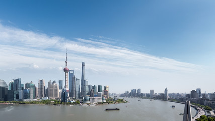 Fotomurales - shanghai cityscape panorama