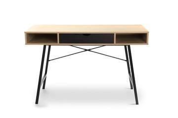 Modern table on white background Fototapete