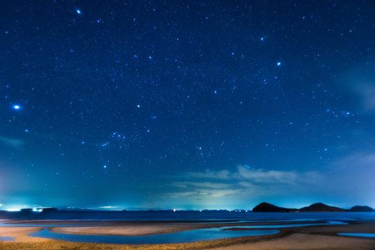 父母ヶ浜の星空