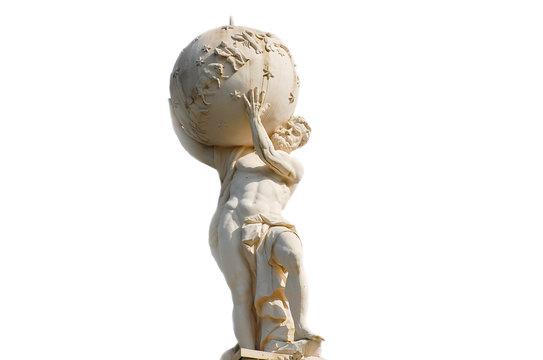 Atlas God Statue