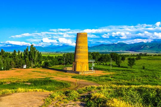 Tokmok Burana Tower Minaret 04