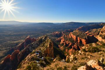 Sedona, Arizona - 2019_01.09: High desert scenes from Bear Mountain