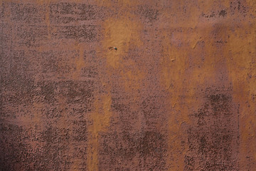 Old rusty iron sheet. Abstract background Wall mural
