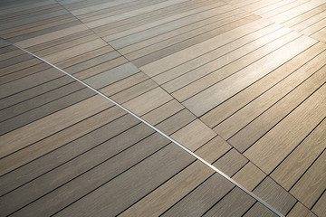 Pattern of wooden floor for background.