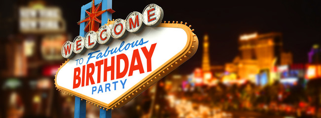Titre : Welcome to fabulous Birthday party