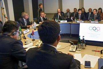 North and South Korea meet with the IOC in Lausanne