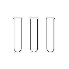 test tubes icon- vector illustration