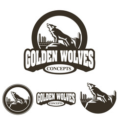 Golden Wolves Vintage