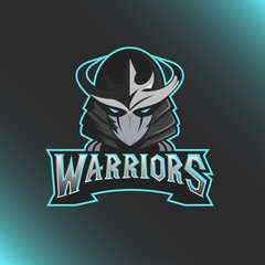 Samurai Logo Template Illustration Design
