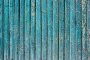 Wooden blue background for design. Abstract background