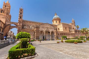 Aluminium Prints Palermo Cattedrale di Palermo, Santa Vergine Maria Assunta, Sicily, Italy