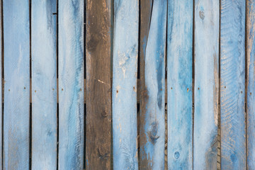 Wooden blue background. For design, banner and layout