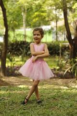 Bailarina no parque