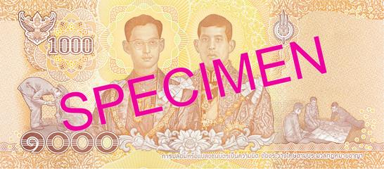 new 1000 thailand baht note reverse