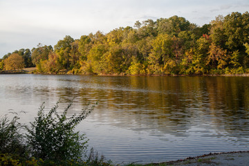 Early Fall Along the Mississippi River