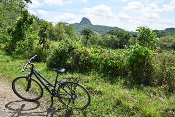 Fahrrad in den kubanischen Bergen