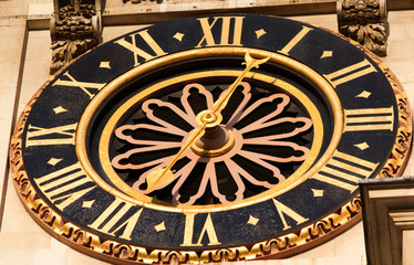 Palace of Westminster- clock - I - London
