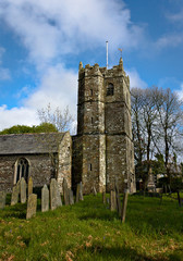 St Teath Parish Church - VII - Tintagel - Cornwall