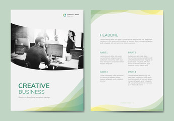Creative Business Brochure Layout