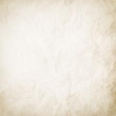 Vintage background, light beige paper texture, retro, grunge, vintage, for design, wrinkled, empty, rough