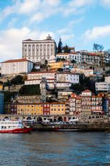 view of ribeira porto portugal