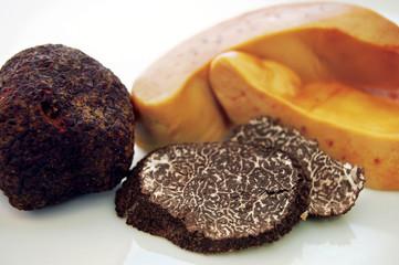 Foie gras with truffle