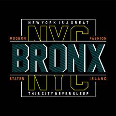 new york city modern typography design for t shirt,vector illustration - Vector