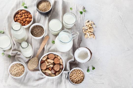 Vegan non diary milk