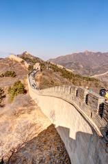 Great wall of China at Badaling