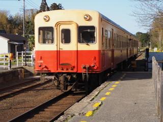 小湊鉄道にて列車