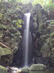 成田山にて滝