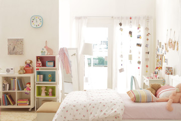 cute teen girl bedroom with decoration 5
