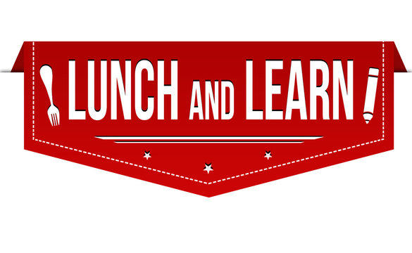 Lunch and learn banner design