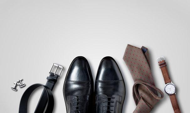 Men accessoires, Still life, Business look