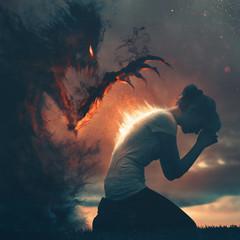 Prayer and darkness