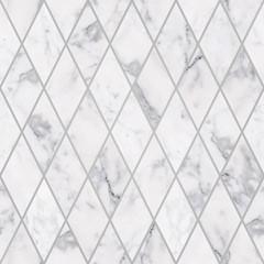 Seamless luxury rhombus white marble stone pattern, Luxury marble stone decorations