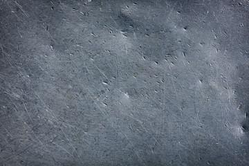 Grunge metal texture steel plate. Wall mural