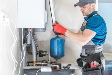 Central Gas Heater Installer Wall mural