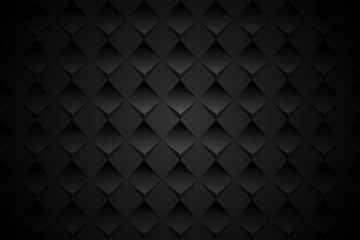 black geometric shape background