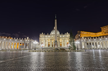 St. Peter square in Vatican