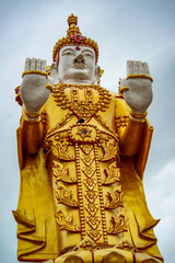 Buddha Temple in Bangkok, Thailand