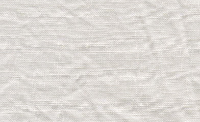 Natural white linen background