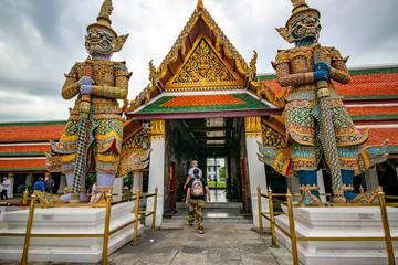 Gran Palace Wat Phra Kaew Temple in Bangkok, Thailand