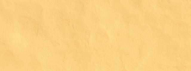 Vintage Grunge Light yellow plaster Wall Background - fototapety na wymiar