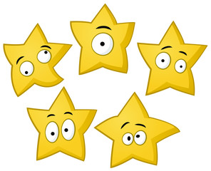 Yellow Stars Characters