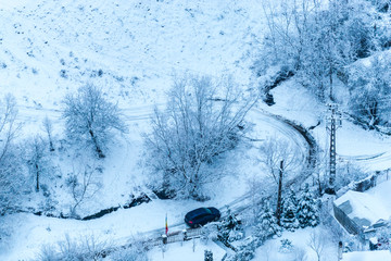 Winter landsdcape
