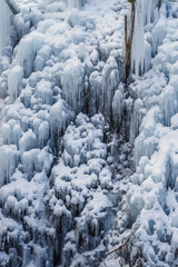 Oonichi Ice Pillar icicles