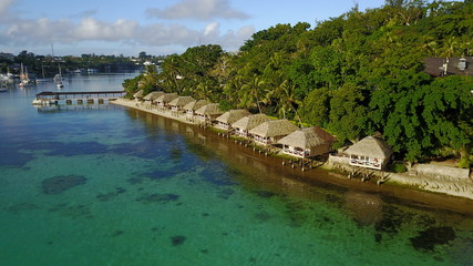 Port Vila is capital city of Vanuatu, Lies on the main island Efate