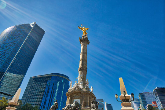 Angel of Independence monument, Mexico City