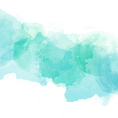 Abstract watercolor art hand paint on white background,Watercolor background